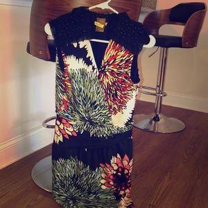 Gorgeous EUC Ali Ro Mini Dress with Sleeve Detail
